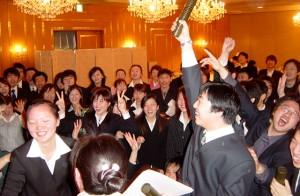 ヤッター、喜びの卒業式